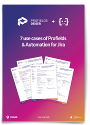 7 use cases: Automation + Profields