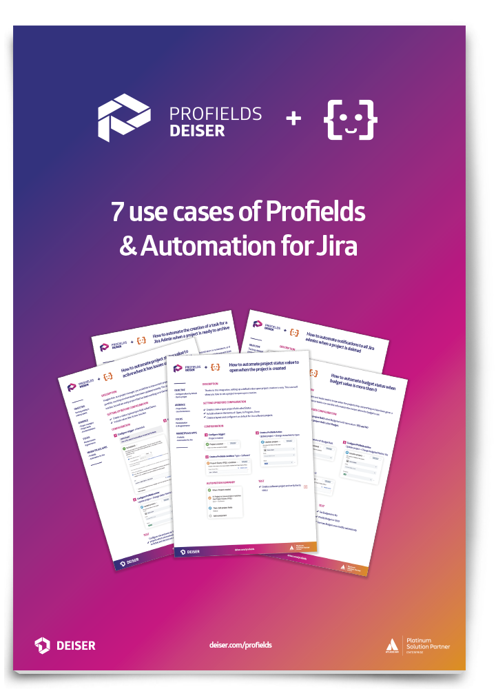 7 use cases e-book to automate Jira for projects