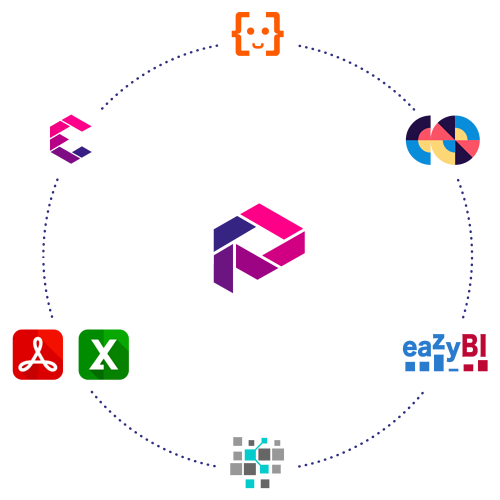 Integrate Profields for Jira with the most important apps available in the Atlassian Marketplace such as Automation for Jira, eazyBI, Elements Connect and many more....