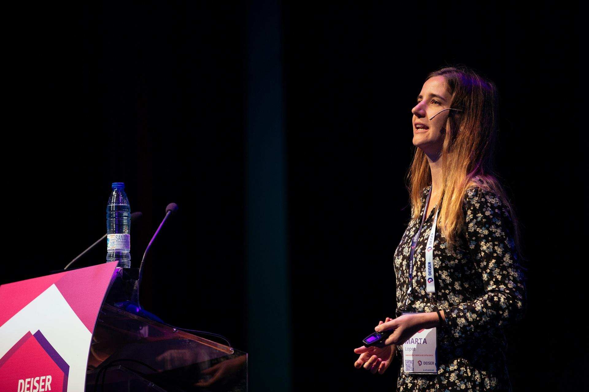 DEISER Enterprise Day Madrid 2017 | Marta López Reyes de la Universidad Abierta de Cataluña