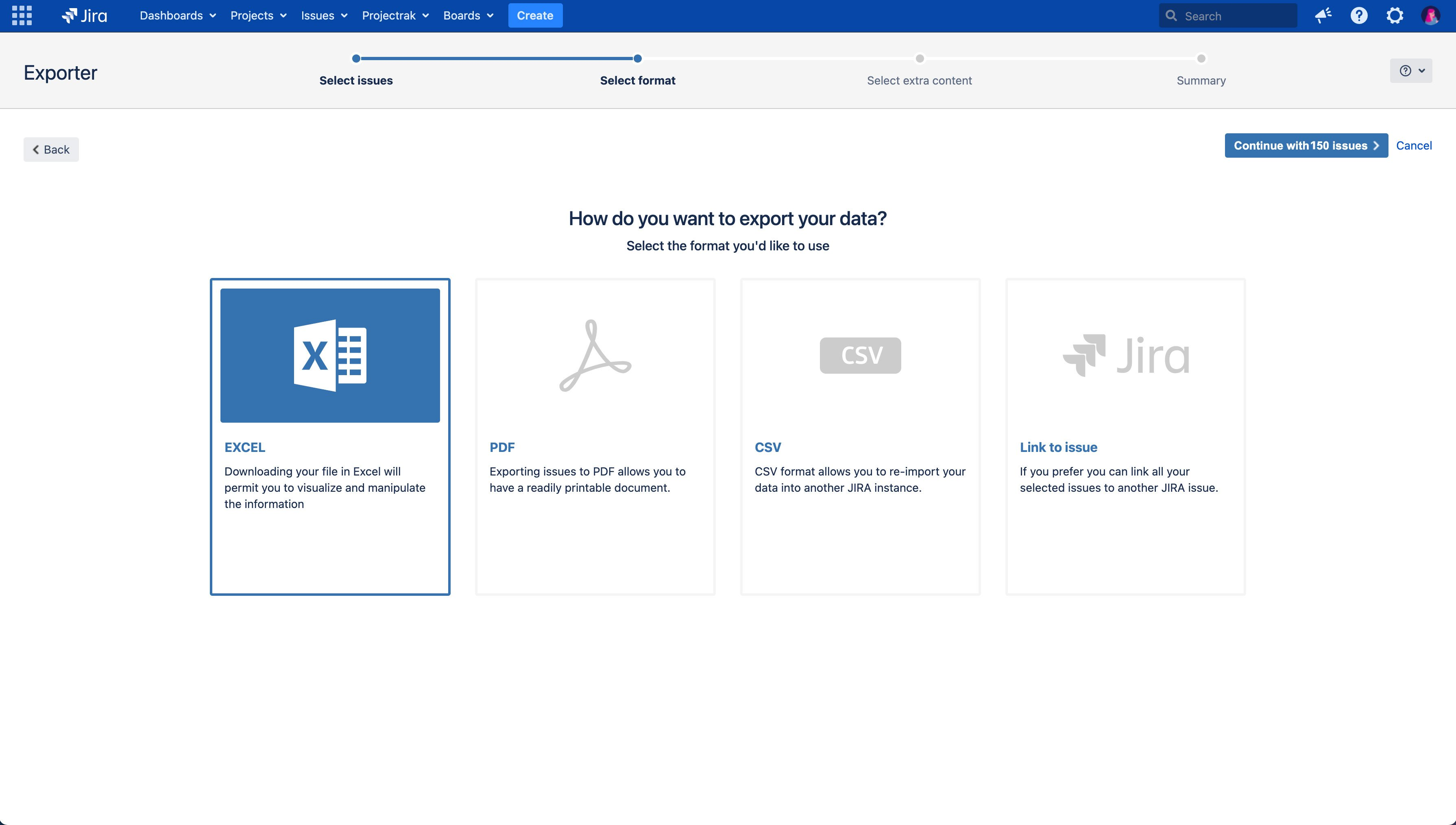 Export issues from Jira to Excel, PDF, or CSV without losing important data